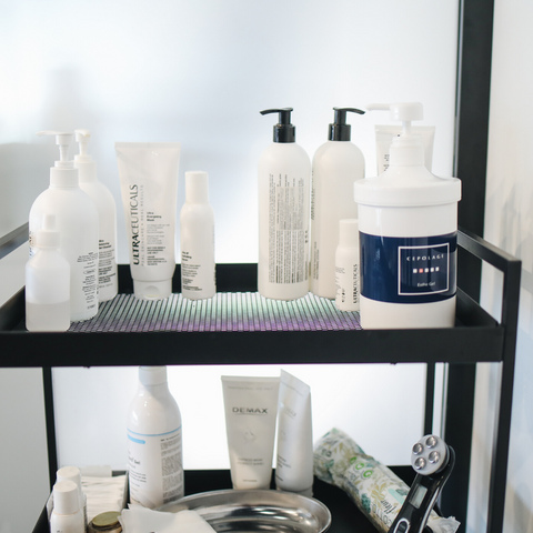 Skincare shelf -Micora Blog