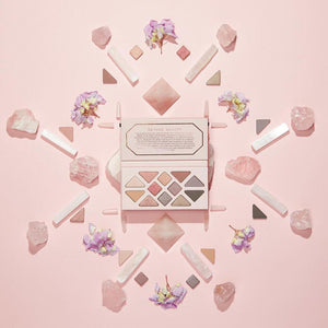 Aether Beauty Rose Quartz Crystal Gemstone Palette - Micora