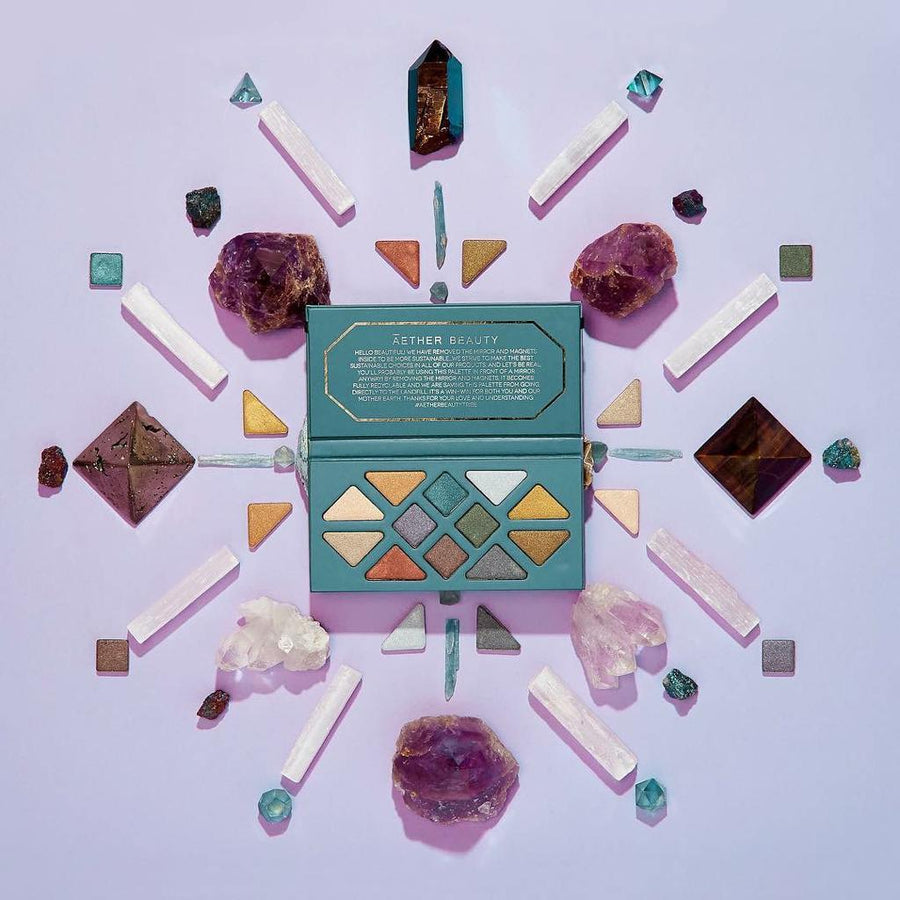 Aether Beauty Crystal Grid Gemstone Palette - Micora