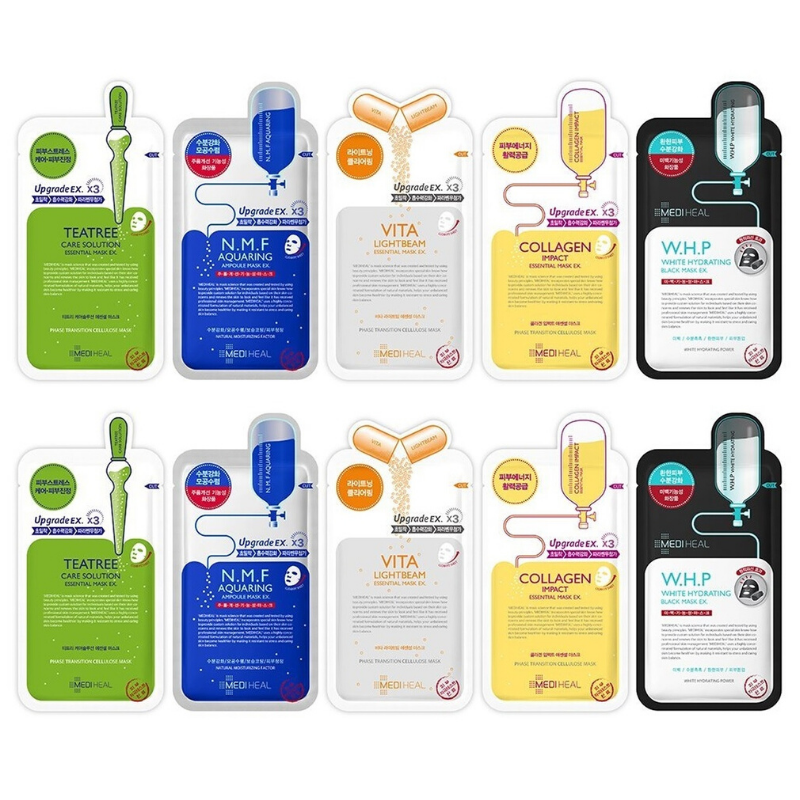 MEDIHEAL SHEET MASK Essentials Starter Set
