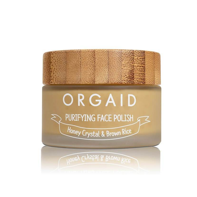 Orgaid Purifying Face Polis_Honey Crystal_ Brown Rice