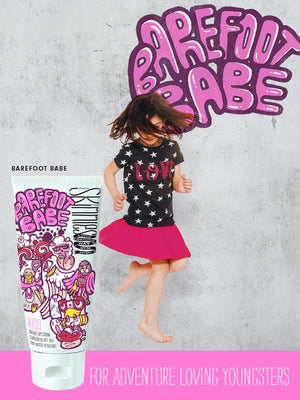Skinnies KIDS Sunscreen Barefoot Babe