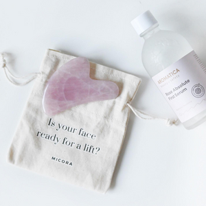 [WAREHOUSE SALE] Rose Quartz Gua Sha Tool