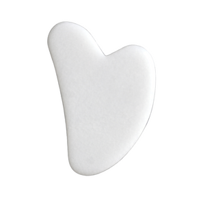 [WAREHOUSE SALE] White Jade Gua Sha Tool
