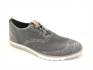 Hush Puppies Grey Mesh Lace-in-Place Sneaker Shoes