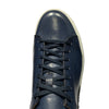 Jose Real Blue Leather Sneaker Shoes