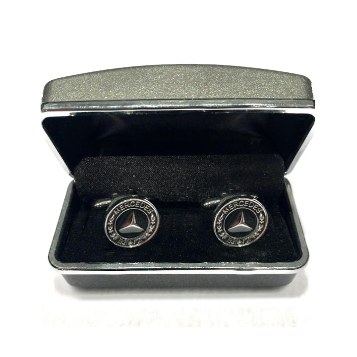 Mercedes Benz logo Cuff Links