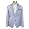 A Fish Named Fred : Linen Look Blazer - Light Blue