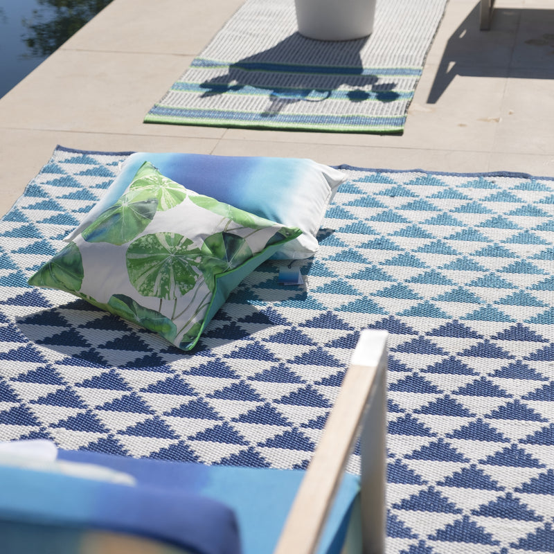 BISCAYNE COBALT INDOOR/OUTDOOR RUG