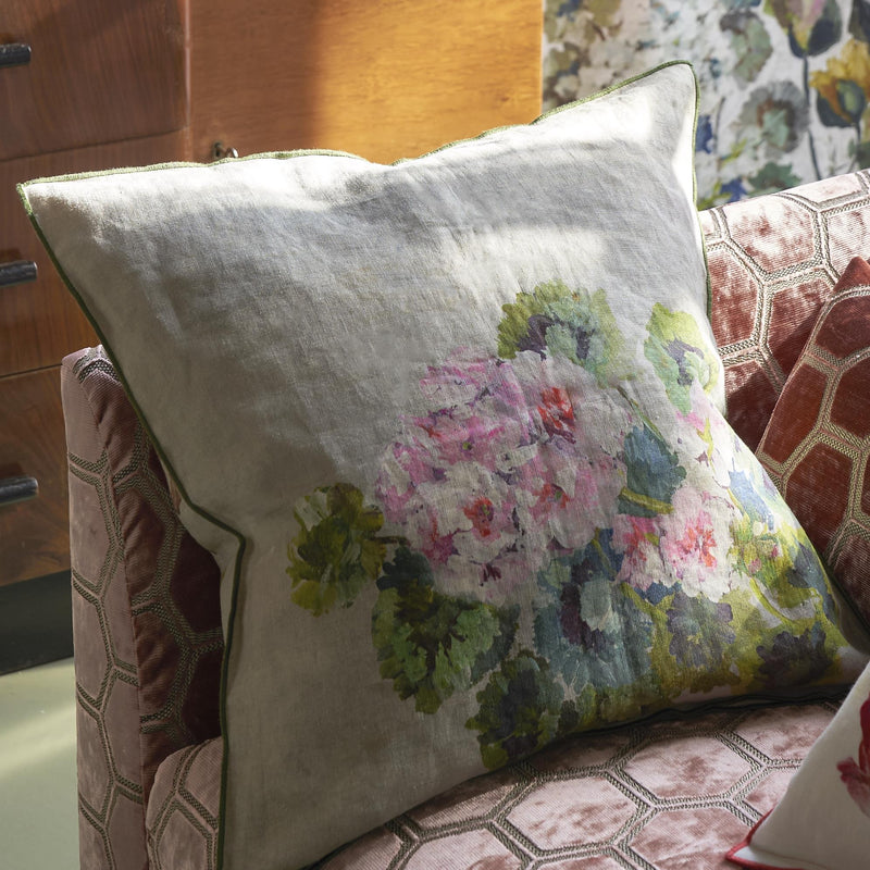 GRANDIFLORA ROSE EPICE CUSHION
