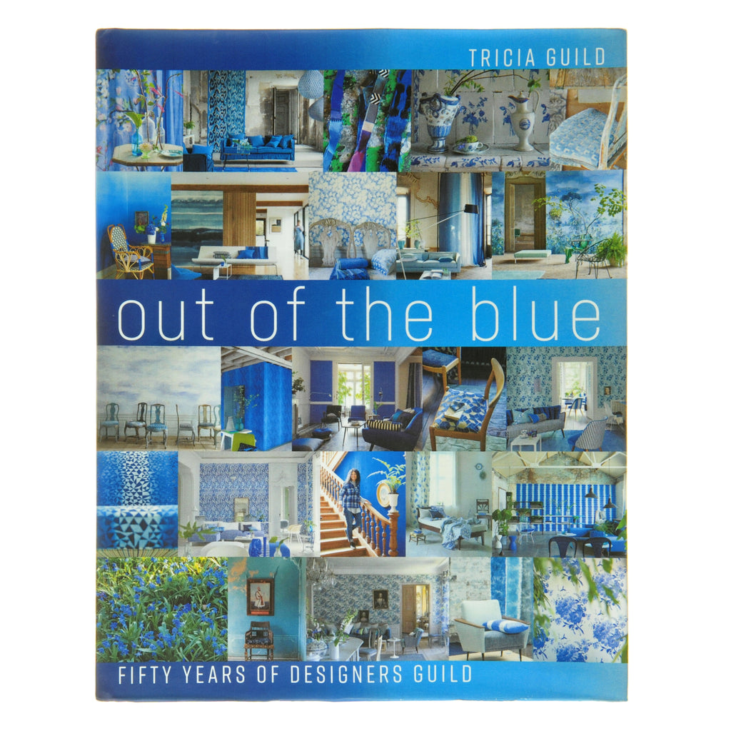 """OUT OF THE BLUE"" BY TRICIA GUILD"