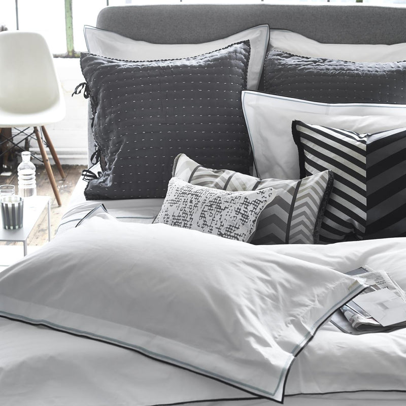 ASTOR GRAPHITE & GREY BED LINEN