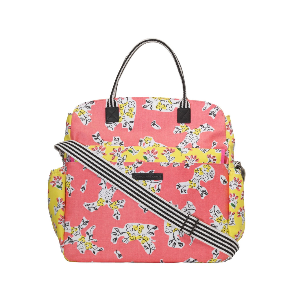 DAISY PATCH BABY CHANGING BAG