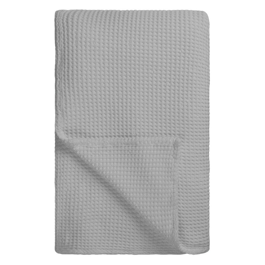 ALBA PALE GREY THROW