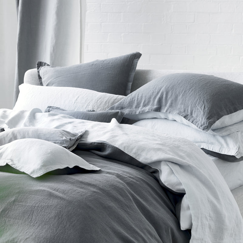 BIELLA COOL GREY & MIST BED LINEN