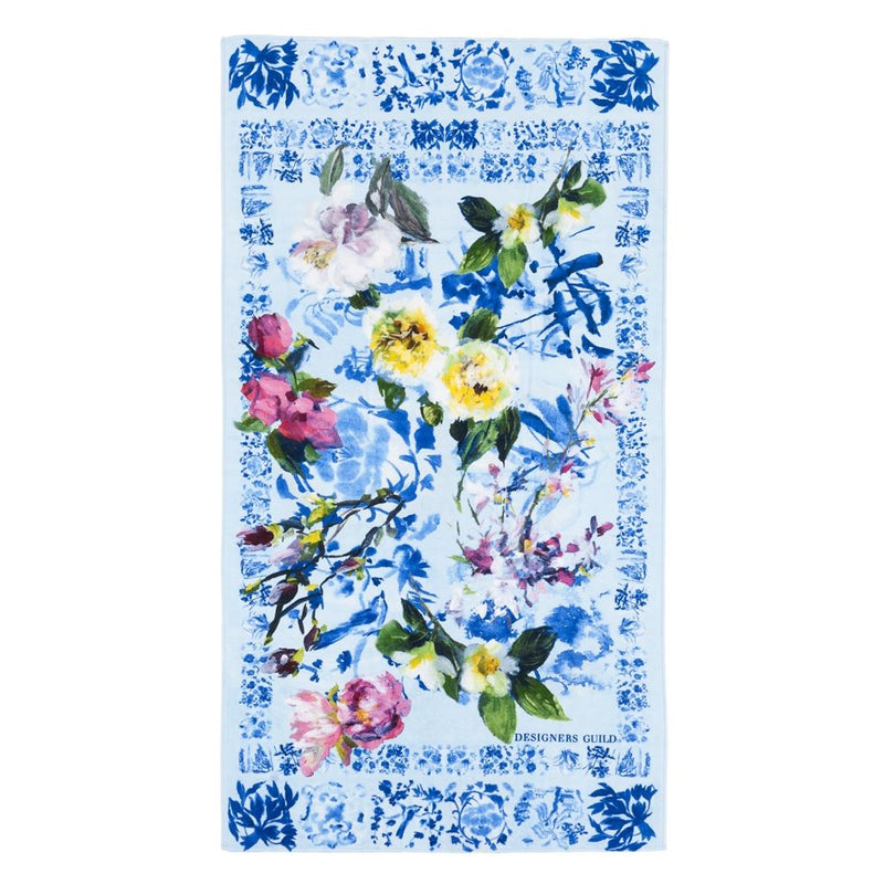 MAJOLICA CORNFLOWER BEACH TOWEL
