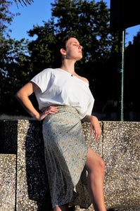 Denni skirt - Earth and water collection