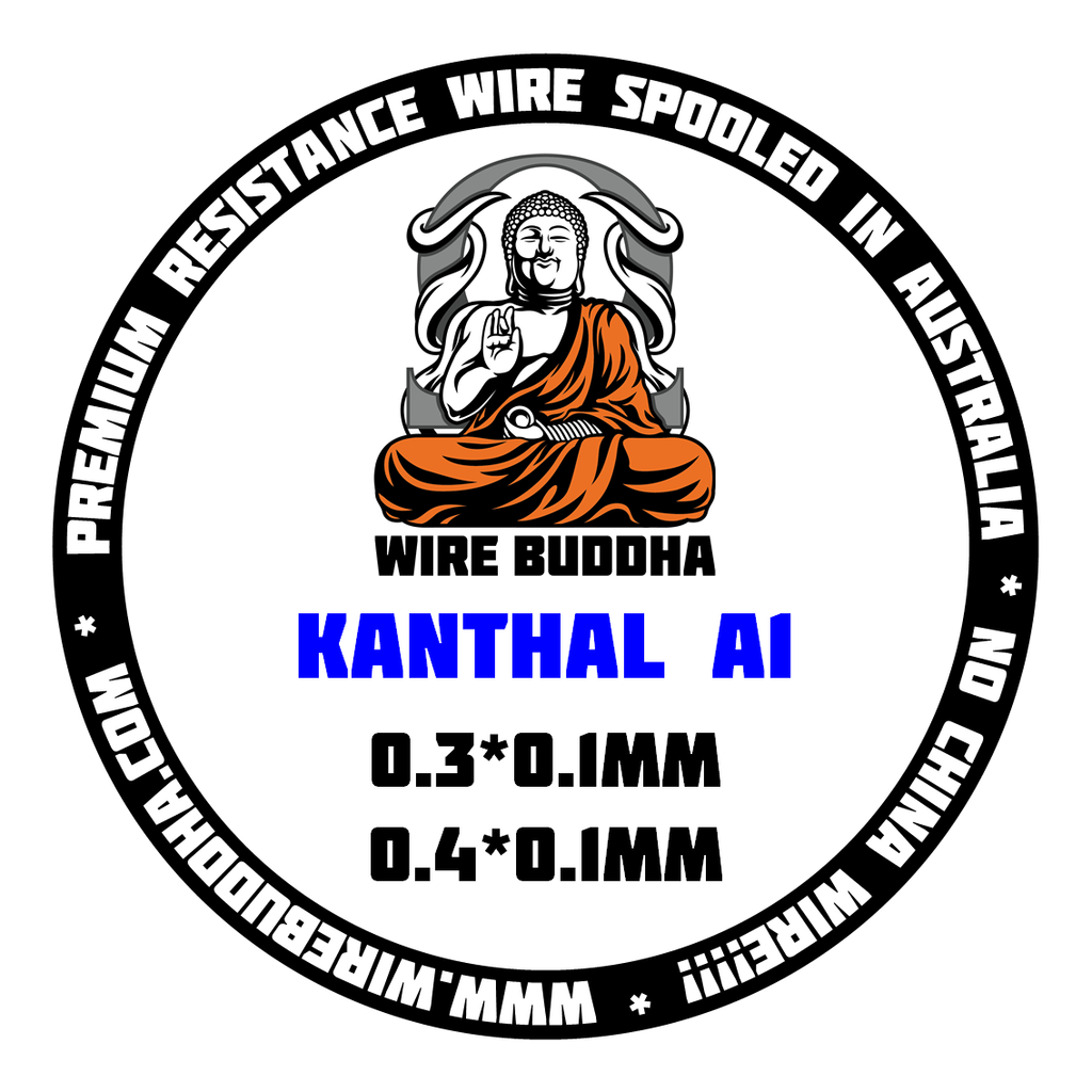 Kanthal A1 Ribbon Wire - 100-500FT