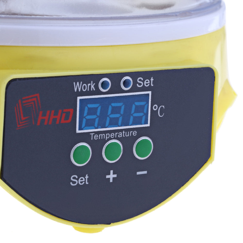 HHD Mini Automatic Digital 7 Eggs Poultry Incubator Hatcher Tool