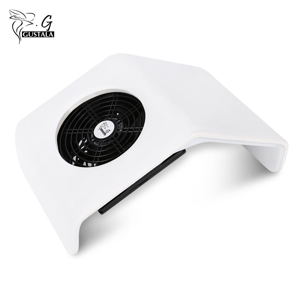 Gustala Suction Nail Dust Collector UV Gel Dryer 30W Cleaner