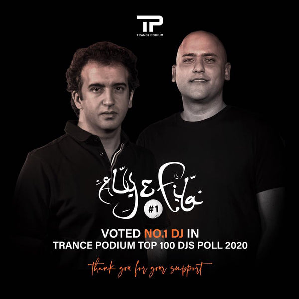 Aly & Fila Voted #1 DJ - Trance Podium Top 100 DJ Poll 2020