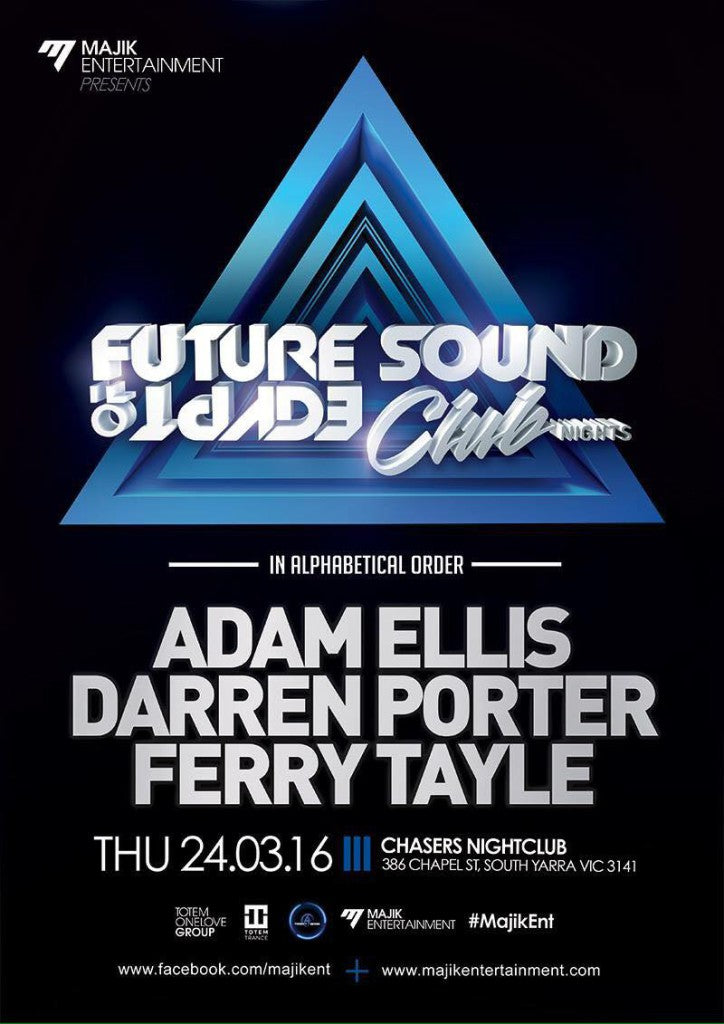 FSOE Club Nights Melbourne 24 March