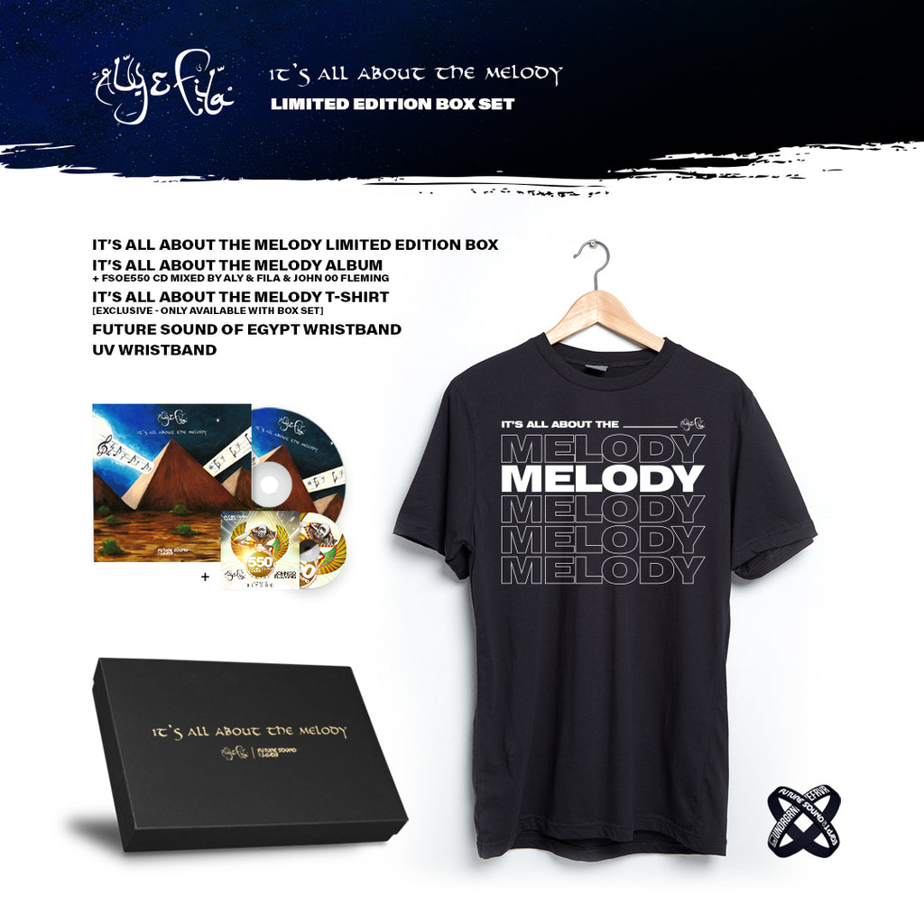 Limited Edition 'It's All About The Melody' Box Set