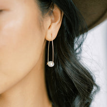 Load image into Gallery viewer, Petal Pearl Earrings
