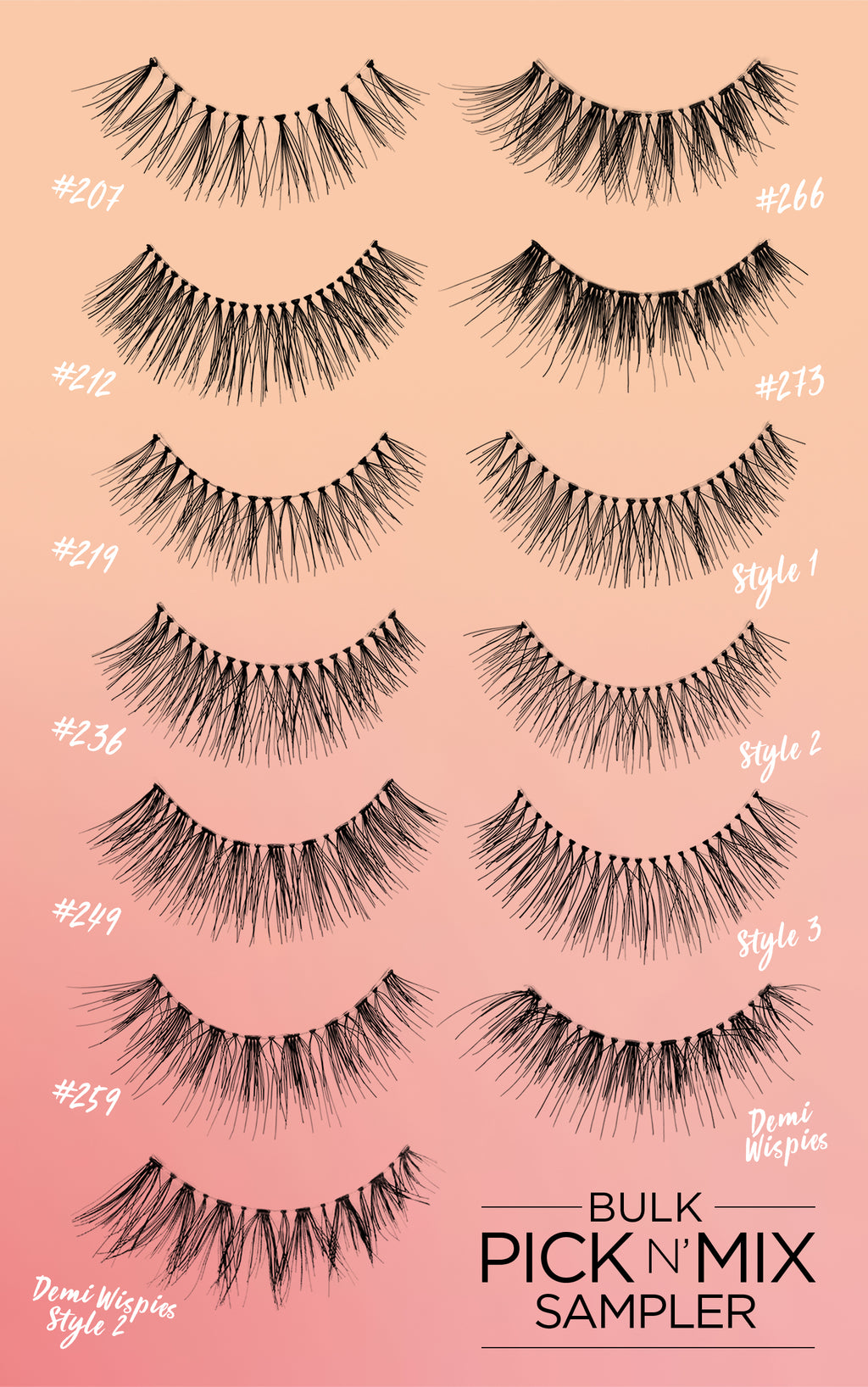 68b1022e670 MODELROCK Lashes – tagged