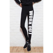 Load image into Gallery viewer, Printed Work Out Leggings
