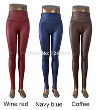 Load image into Gallery viewer, Skinny Faux Leather High Waist Leggings