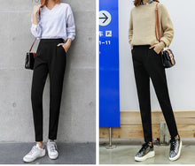 Load image into Gallery viewer, Elegant Black OL Style Pants