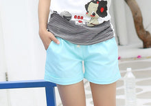 Load image into Gallery viewer, Candy Color Elastic Waist With Belt  Short