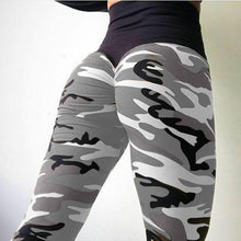 Load image into Gallery viewer, High Waist Camo Printing Leggings