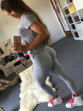 Load image into Gallery viewer, Low Waist Push Up Sexy Hip Solid Legging