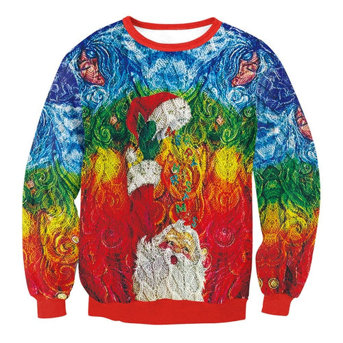 Artistic Ugly Christmas Sweater