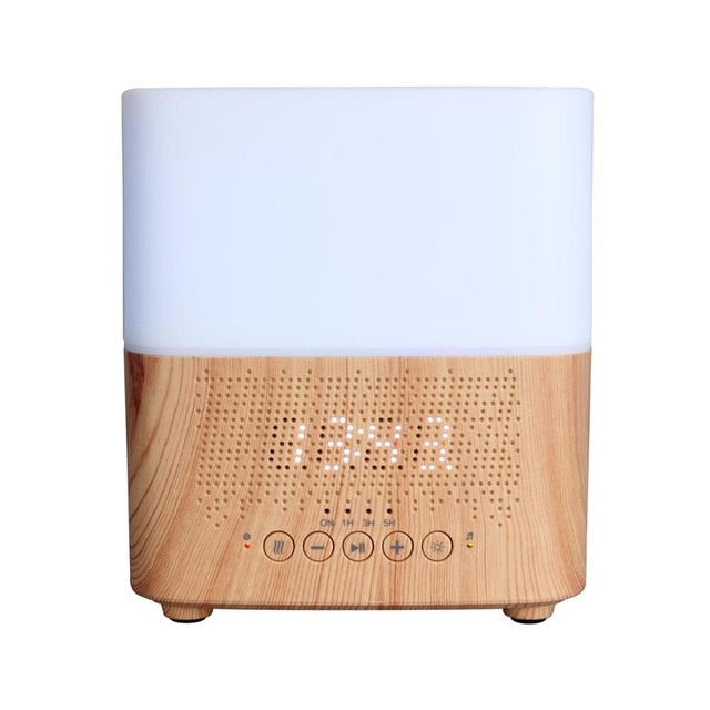 BLUETOOTH DIFFUSER WITH ALARM CLOCK