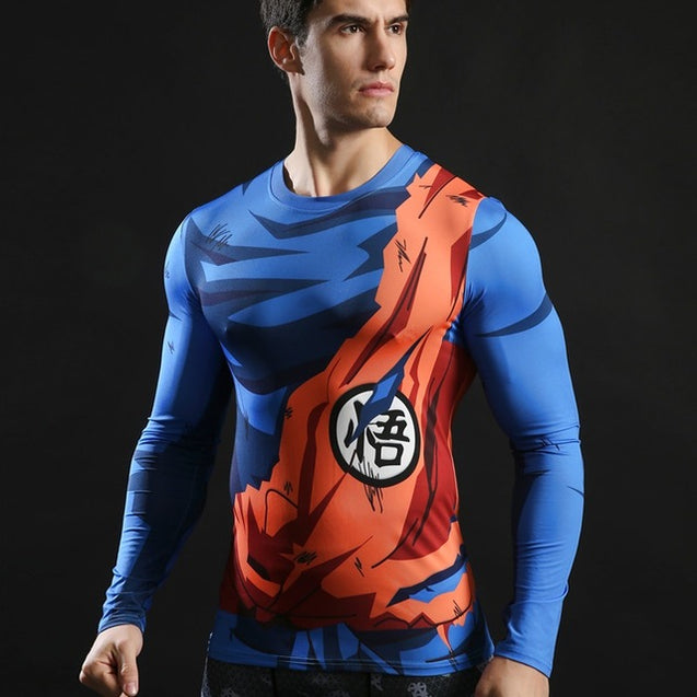 FITNESS DRAGON BALL TANK TOPS