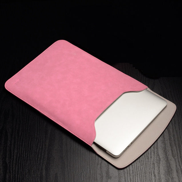 LEATHER SLEEVE CASE FOR MACBOOK AIR/PRO