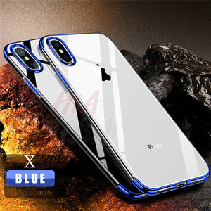 Luxury Soft TPU Silicone Case For iPhone