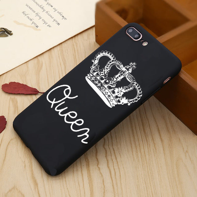KING & QUEEN PHONE CASE FOR IPHONE