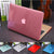 CRYSTAL/MATTE TRANSPARENT CASE FOR APPLE MACBOOK AIR/PRO