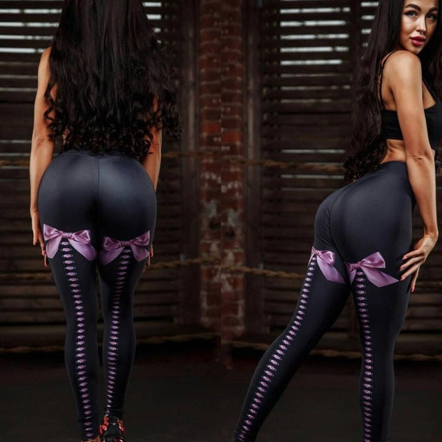 SEXY BOW FITNESS LEGGINGS