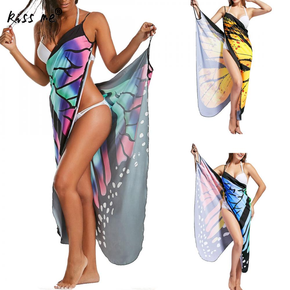 BEACH COVER UP PRINTED