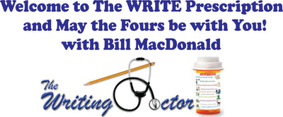 The WRITE Prescription/May the Fours be with You!