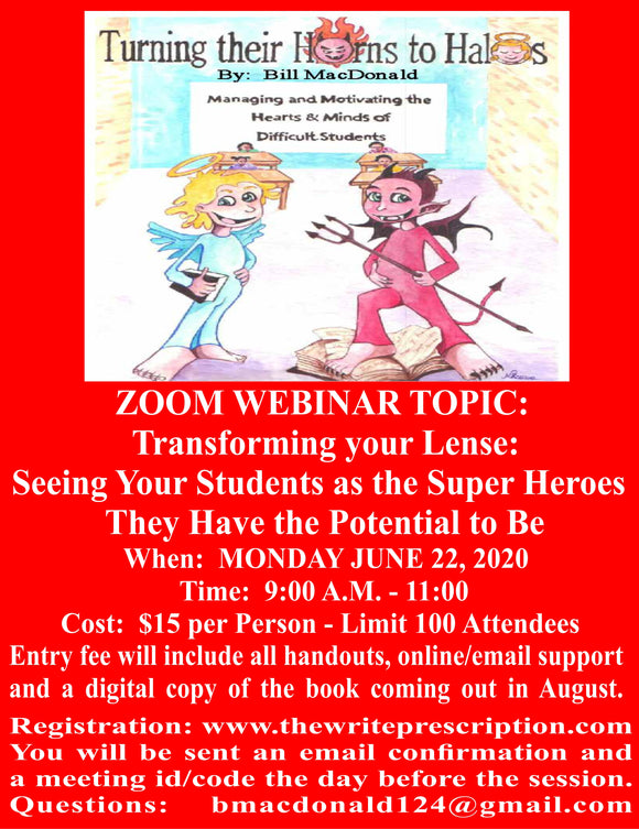 Webinar: Seeing Your Students as the Super Heroes they Have the Potential to Be