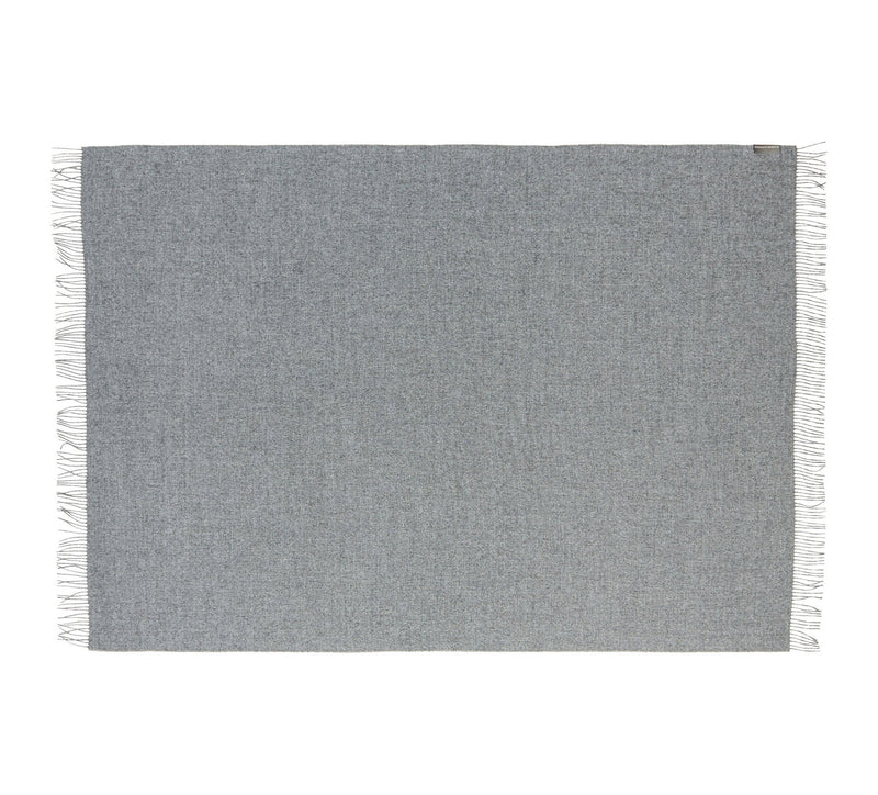 Silkeborg Uldspinderi ApS Arequipa 130x200 cm Throw 0435 Medium Grey