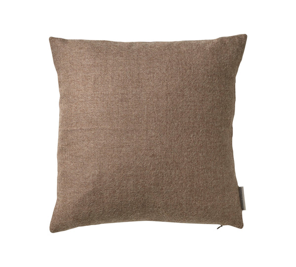 Silkeborg Uldspinderi ApS Arequipa 60x60 cm Cushion Walnut Brown 0284