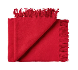 Silkeborg Uldspinderi ApS Athen 130x200 cm Throw True Red 4501