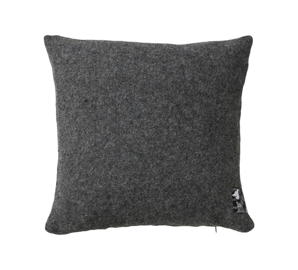 Silkeborg Uldspinderi ApS Athen Cushion 40x40 cm Cushion 0116 Dark Nordic Grey